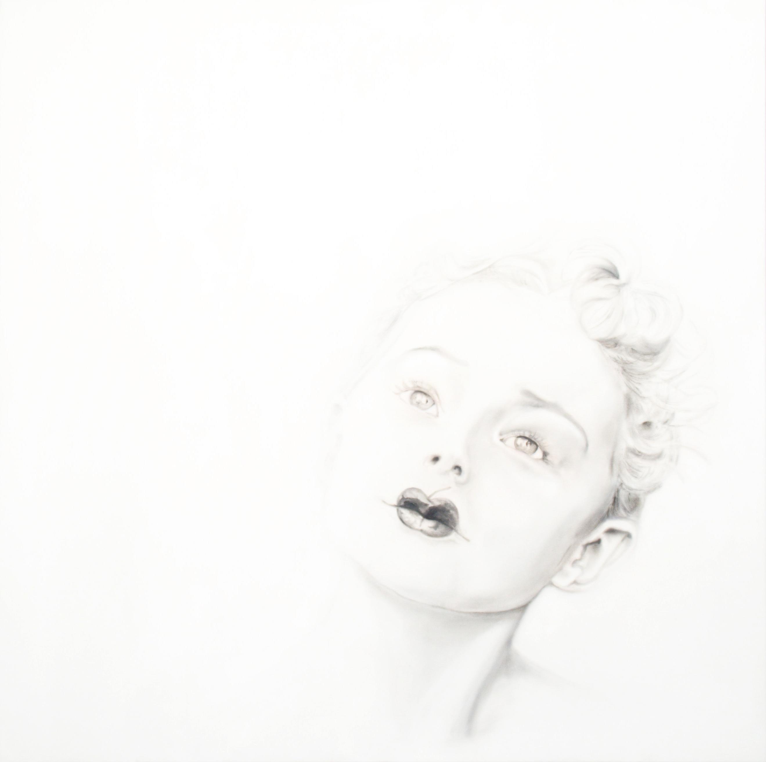 olio su tela I cieli dell'est 80x80 2014