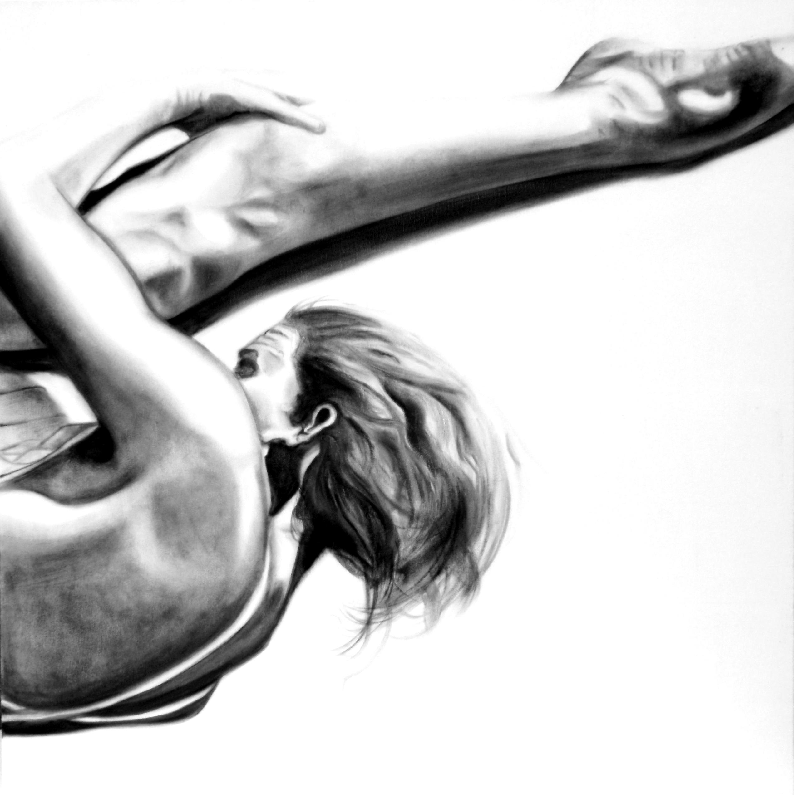 oil on canvas JUMP 19 80x80 cm 2015